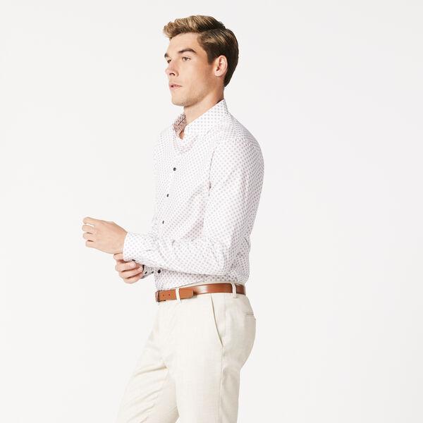 SHERWIN, White/Burgundy, hi-res