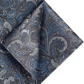 PIRAGO POCKET SQUARE, Silver, hi-res