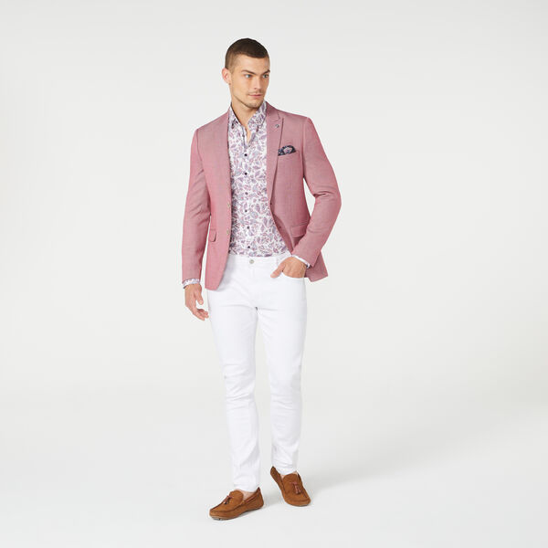 SYLVESTER BLAZER, Red, hi-res