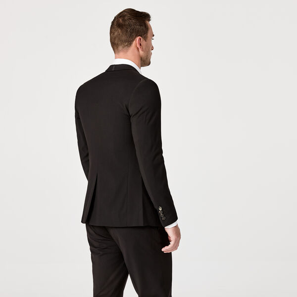 FENWICK SUIT JACKET, Black, hi-res
