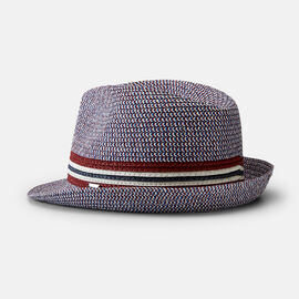 ACILIA HAT, Burgundy/Navy, hi-res