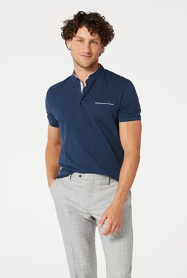 BARRA POLO SHIRT, Navy, hi-res
