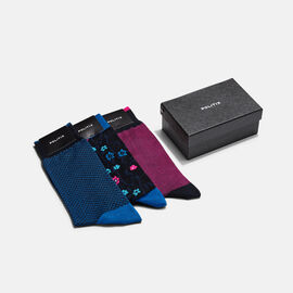 SOCK SET, Black/Pink, hi-res