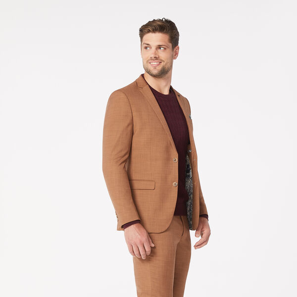 ARLO SUIT JACKET, Dark Tan, hi-res
