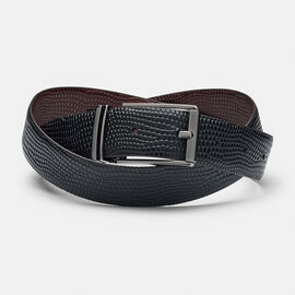 NOVELLO BELT, Dark Tan/Black, hi-res