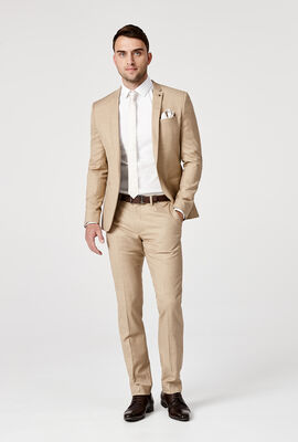 CROFTON SUIT JACKET, Tan, hi-res