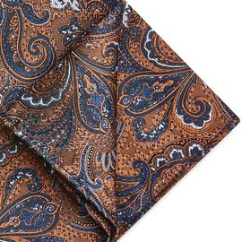 PIRAGO POCKET SQUARE, Tan, hi-res