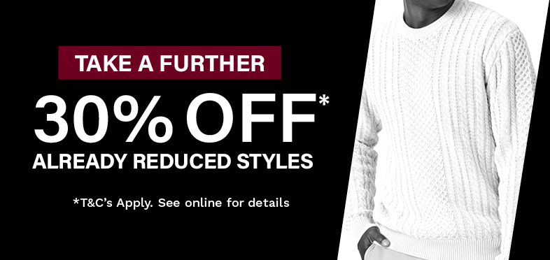 Take a further 30% off