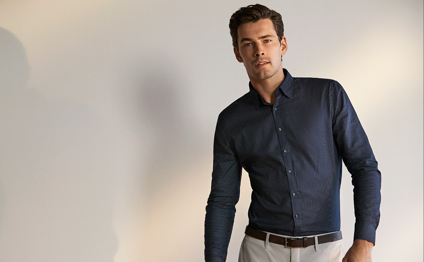 Autumn shirts for men made east